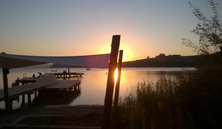 Sonnenuntergang Lochen am See