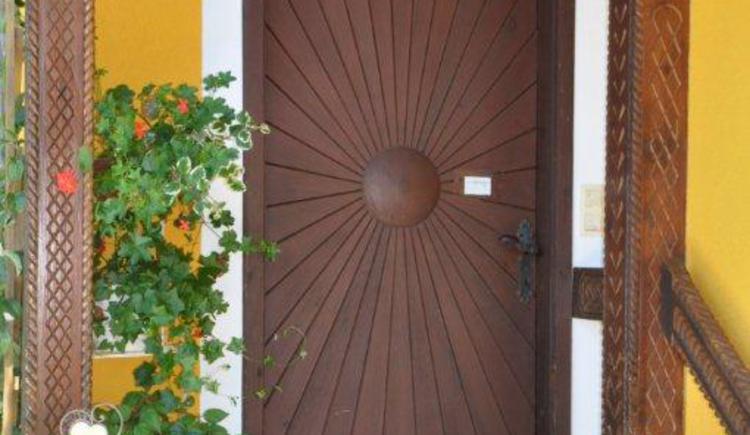 Eingang (© Privatzimmer Hinterdorfer)