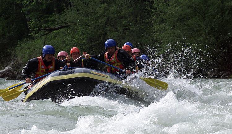 Raftingtour von Dachstein Incentives (© Rudi Vonach)