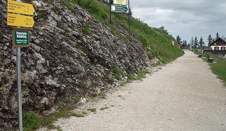 Wanderweg Bergstation Zwölferhorn