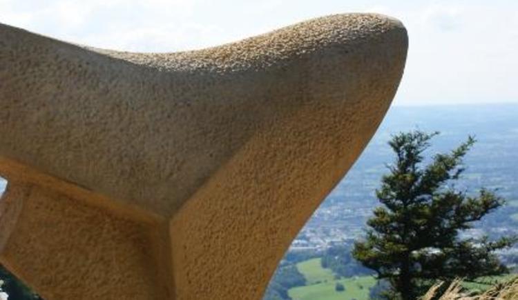 Skulptur sattel 2 (© Tvb Koppl)