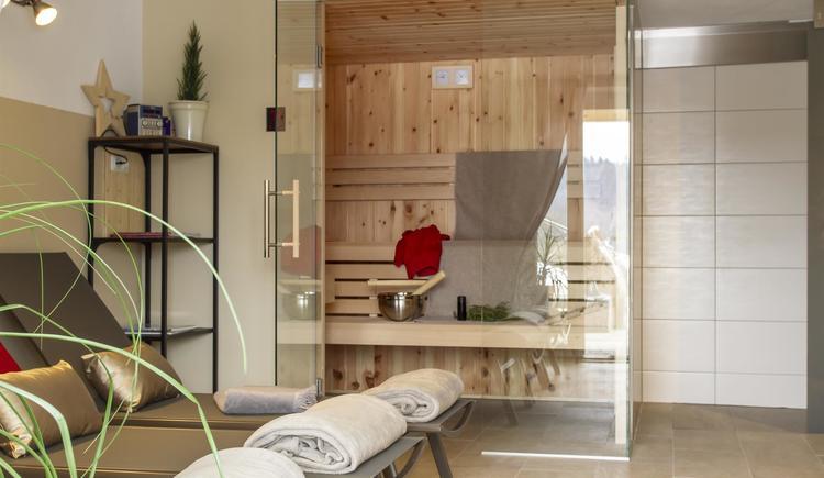 Sauna Dusche (© by Gästehaus