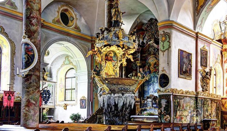 Kirche Traunkirchen_Fischerkanzel (© MTV Ferienregion Traunsee - Karl Heinz Ruber)