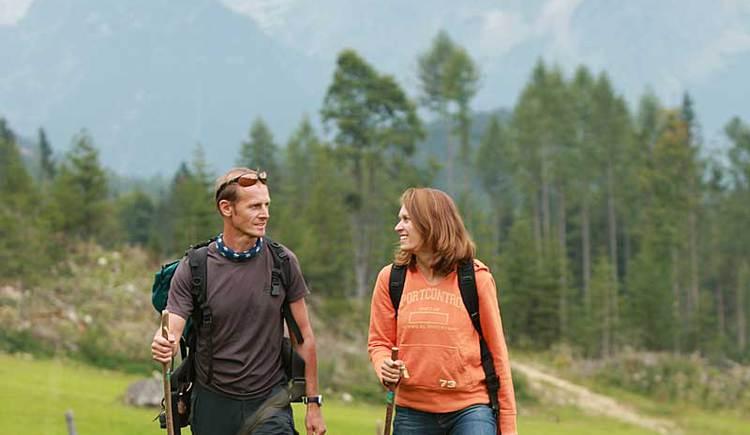 Wandern in Oberoesterreich (© OÖ Tourismus - Roebl)