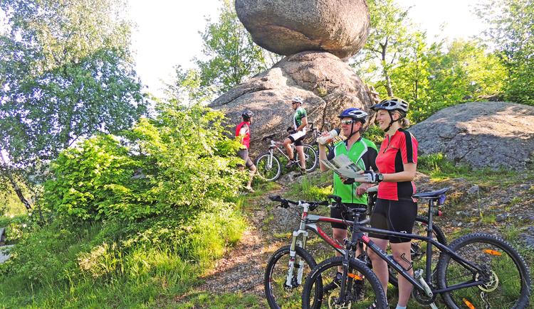 Die Naturparkgemeinde Rechberg ist idealer Start- und Zielort für eine Mountainbiketour. (© Gemeinde Rechberg)