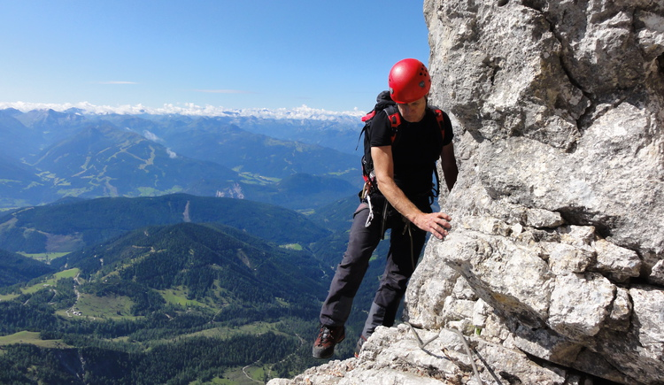 Take the opportunity and make one of the numerous via ferrata in the holiday region Dachstein Salzkammergut.