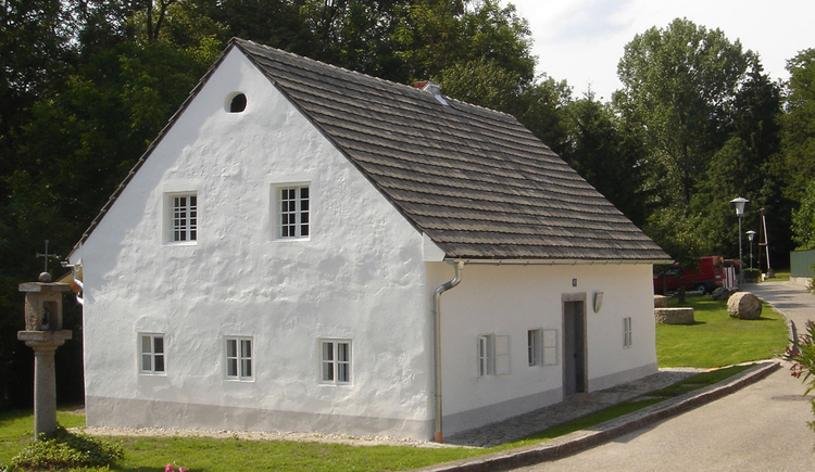 Das Steinbrecherhaus - Museum und Freilichtanlage. (© A.Schneider)