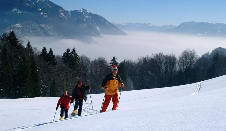 Guided snow shoe hiking tour (© Hotel Alte Post Faistenau)