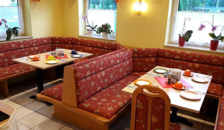 Frühstücksraum (© Pension Haus Ahamer)