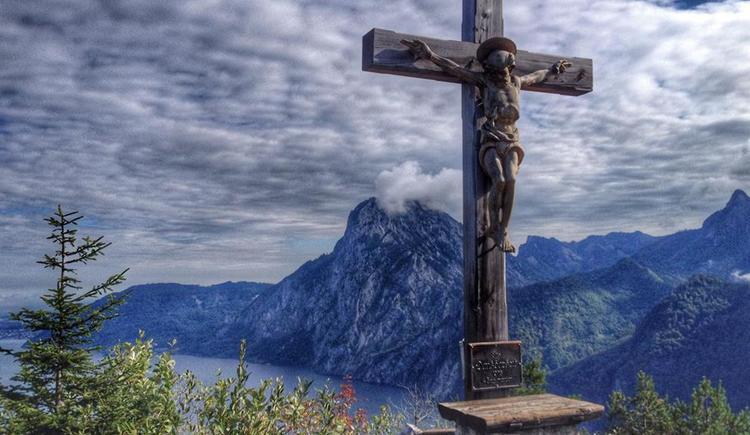 Gipfelkreuz am Sonnstein (© Ellmauer Bettina)