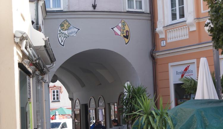 Braunauer_Tor (© Stadtmarketing Ried)