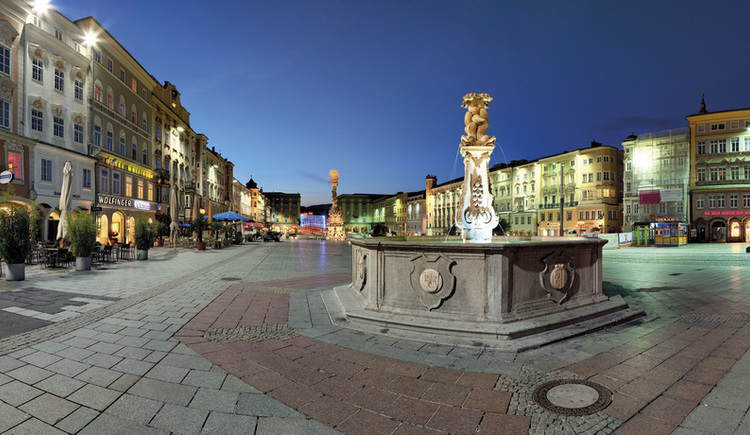 Hauptplatz (© LinzTourismus Johann Steininger)
