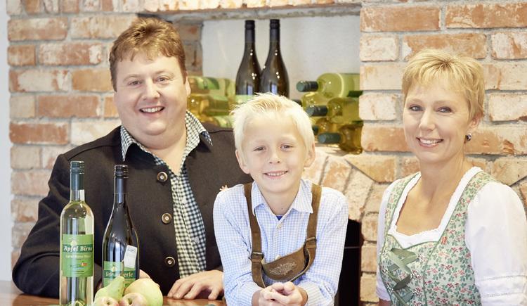 Familie Aumüller Donautaler Mostkellerei, Obermühl