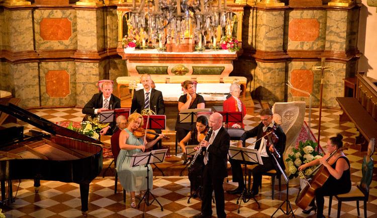 Nannerlfest mit einem Konzert und einer Lesung in St. Gilgen am Wolfgangsee. (© WTG)
