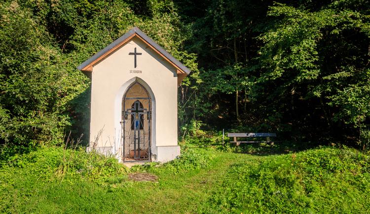 Severin Kapelle in Inzell direkt am Donauradweg (© Johannes Kaindlstorfer)