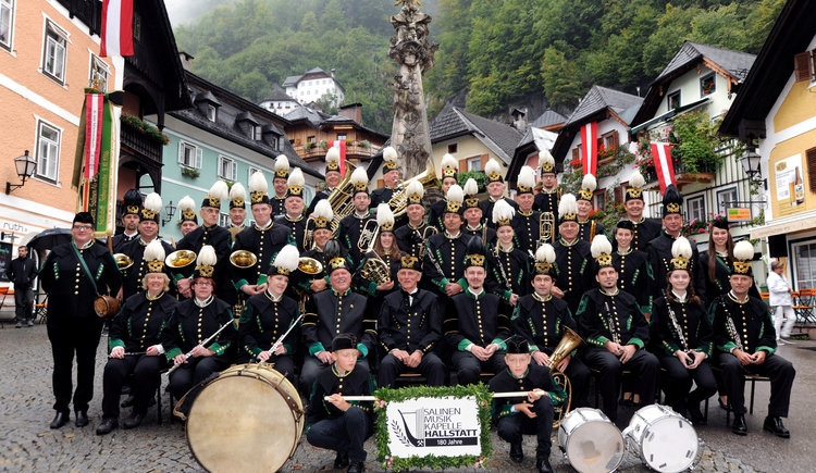 The Salinenmusikkapelle celebrated their 180-year anniversary in 2017.