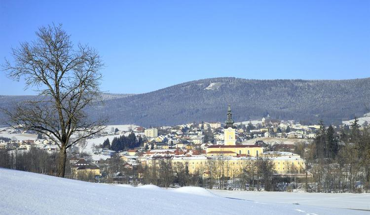 Stift im Winter (© Foto Mathe)