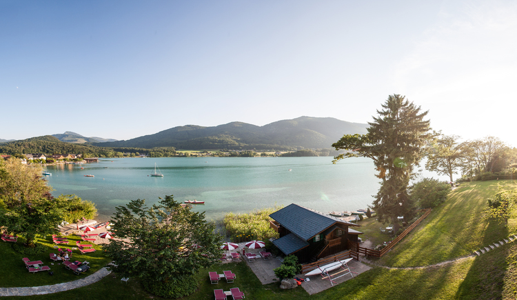 view from the room Fuschlsee (© Ferstl)