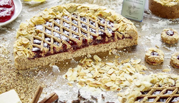 Original Linzer Torte in der Konditorei Leo Jindrak