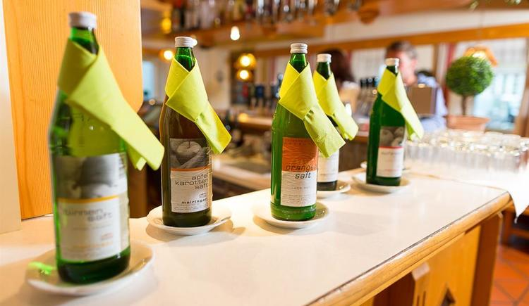 Regionale Produkte Hotel Restaurant Rockenschaub