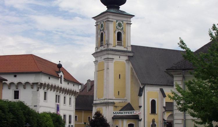 Vorchdorf_Pfarrkirche_Maria_Himmelfahrt_2 (© TTG Tourismus Technologie)