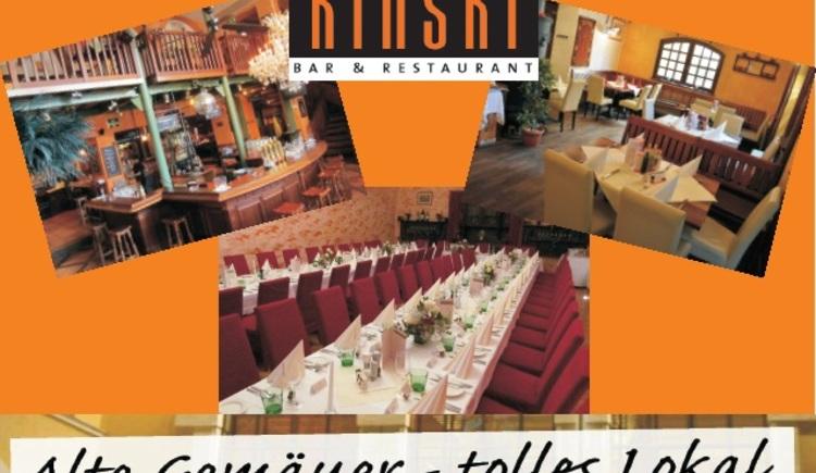 Bar & Restaurant Kinski, Innenansicht