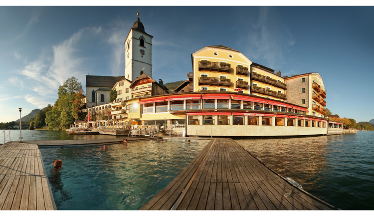 Hotel Weisses Rössl. (© ©OÖ.Tourismus/Röbl)