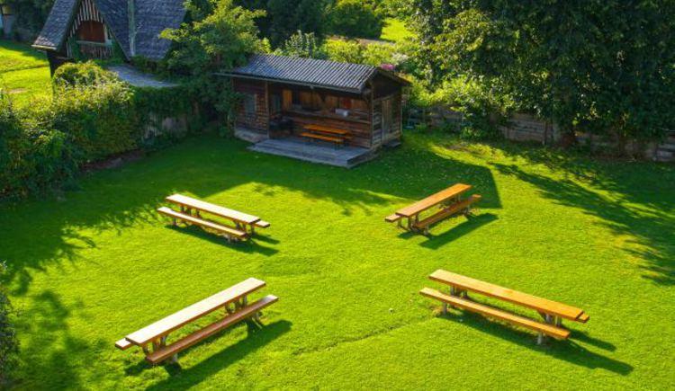Garten Jugendgästehaus St. Gilgen