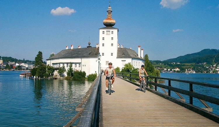 Wandern und Radfahren im Salzkammergut. (© Tourismus Oberösterreich)