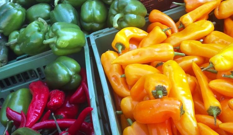 Frisches Gemüse am Montagsmarkt in Kirchdorf/Krems