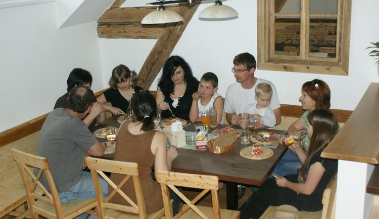 Jausenstation Langoth (© Familie Aigner)