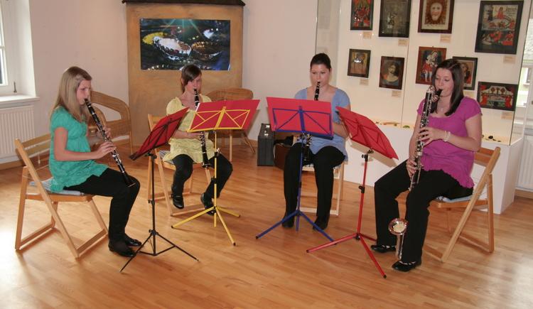 Ausstellungsraum Musiker (© Gemeinde Sandl)