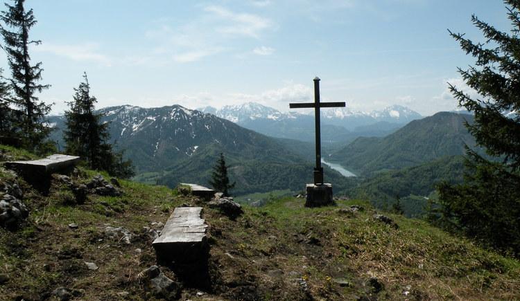 Mountain view at the summit of the Lidaun (© Tourismusverband Faistenau)