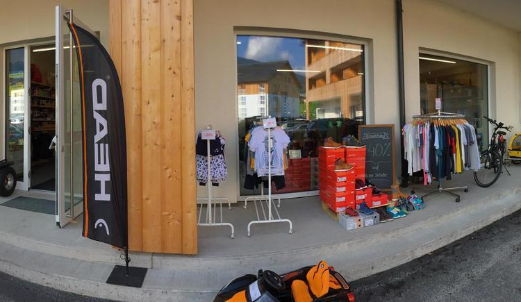 Eingang zum Geschäft. (© checkpoint sport)