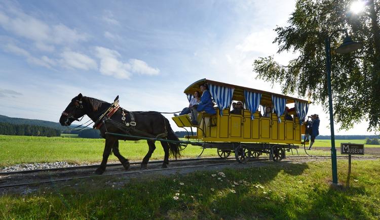 Mühlviertler Pferdeeisenbahn (© OÖTM Röbl)