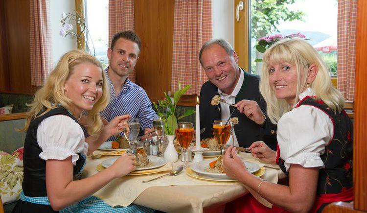 Köstlich speisen beim Gasthof Mader (© Fam. Altreiter, GH Mader)