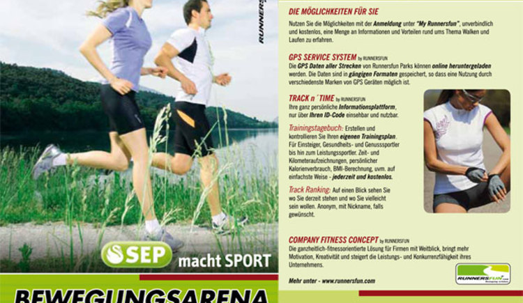 SEP Bewegungsarena Gmunden by Runnersfun (© runnersfun consulting gmbh - Ferienregion Traunsee)