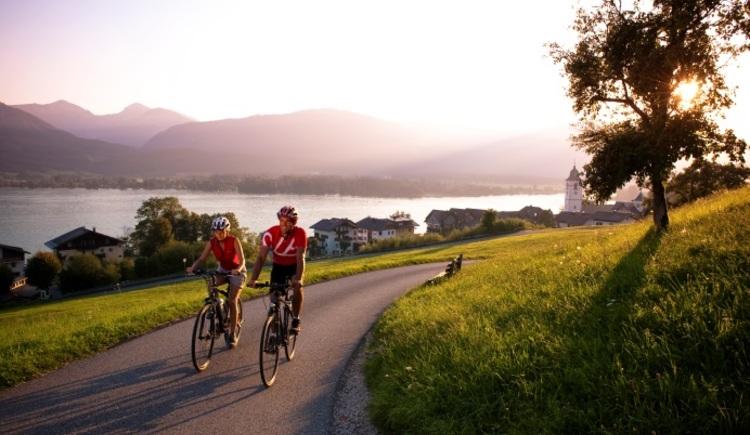 Radfahren im Salzkammergut