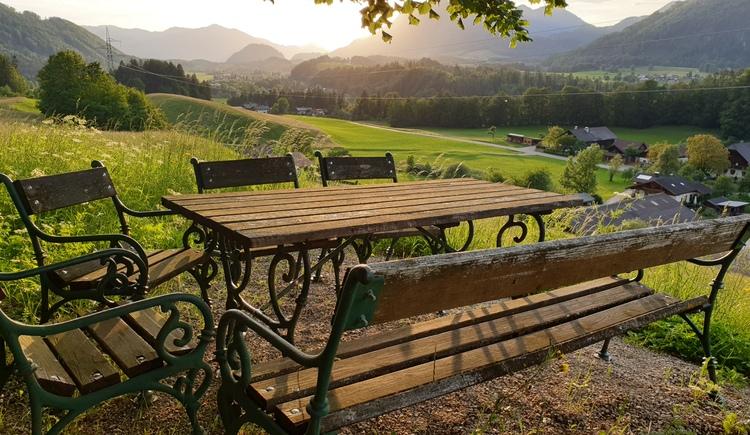 Aussichtsplatzerl. (© Tourismusverband Bad Ischl)