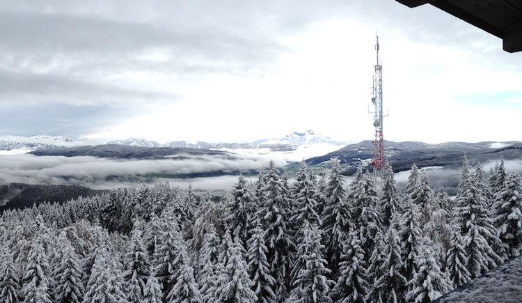 Aussichtsturm, Winter, St. Georgen im Attergau. (© Schmoller Christine)