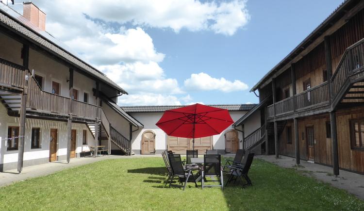 Gemütlicher Innenhof (© Helma Esterhammer)