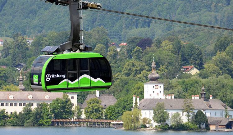 Grünberg Seilbahn (© TVB Ferienregion Traunsee)