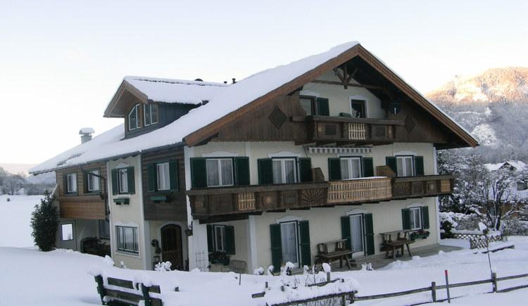 Winter in der Pension Haus am Wald