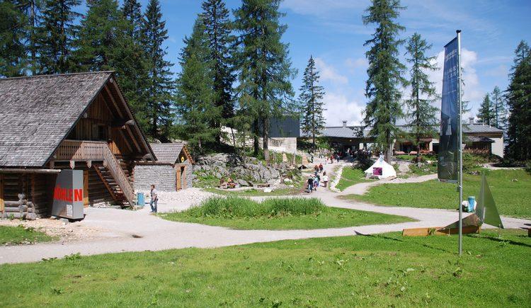 Ansicht des Naturerlebnisparks
