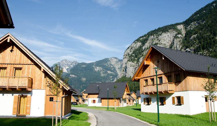 Ansicht der Häuser. (© Resort Obertraun)