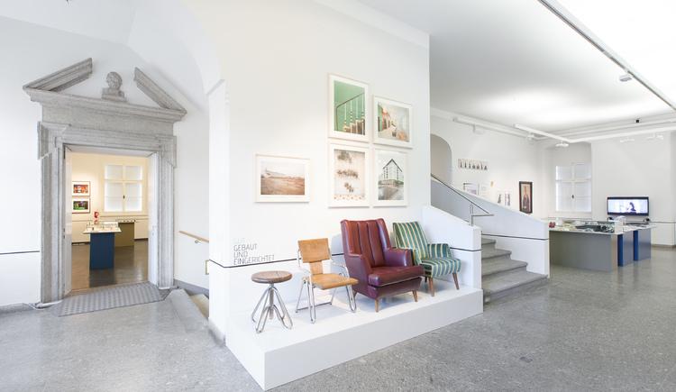 Ausstellungsansicht 100% Linz (© Florian Voggeneder)