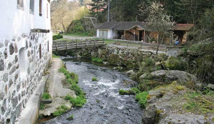 Das Romantikdorf Kneiding in Schardenberg. (© Leader-Region Sauwald)
