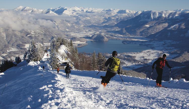 Skitour auf das Zwölferhorn. (© WTG)