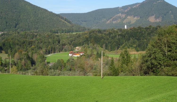 Plaik - Blick in Richtung Ortszentrum (© Tourismusverband Faistenau)