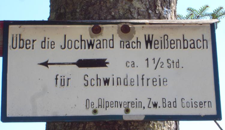 Aussichtswarte Jochwand in Bad Goisern am Hallstättersee.